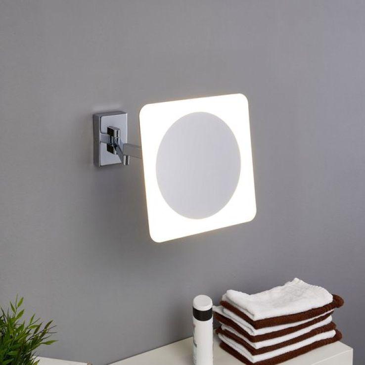 Sfr news salle de bains 12 luminaires de choc for Miroir salle de bain chauffant