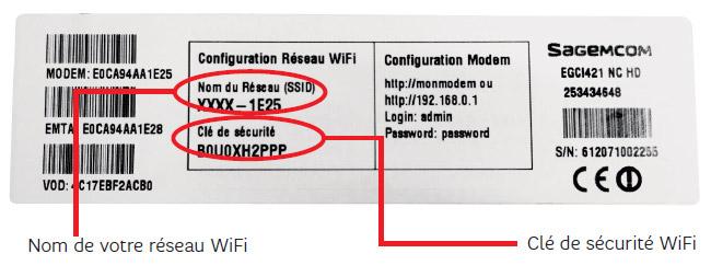 comment trouver la cle wifi