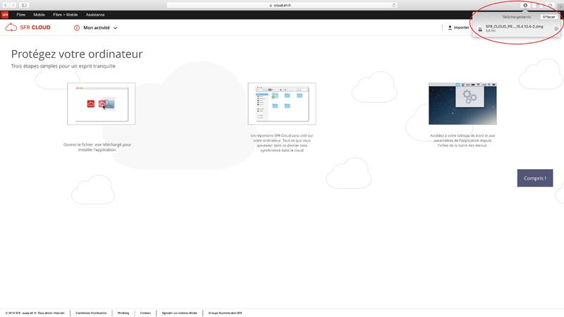 sfr cloud comment installer et se connecter sur pc et mac ou sur le web. Black Bedroom Furniture Sets. Home Design Ideas