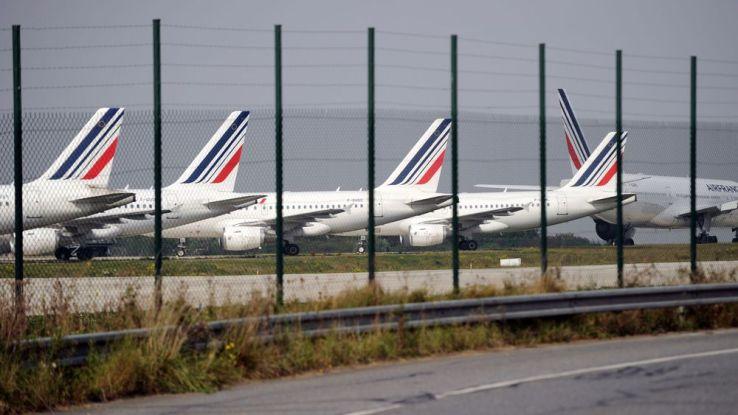 Air France maintient 80% des vols samedi, un chiffre stable