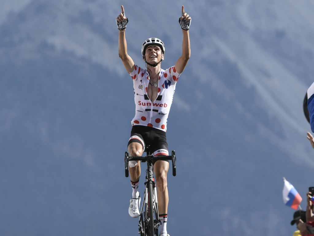 Warren Barguil sur le Tour de France