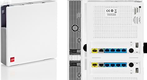 ADSL pas cher avec forfait RED dans un pack Red+Box