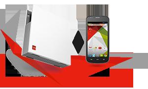 Votre box à partir de 19,99 € par mois pour les clients mobile SFR avec un carré 4G 3Go