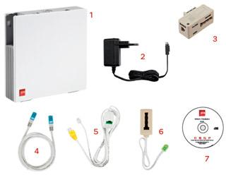 La box nb6 avec l 39 adsl caract ristiques d taill es - Avoir internet sans ligne telephonique ...