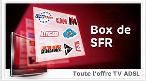 Toute l'offre ADSL Neufbox TV