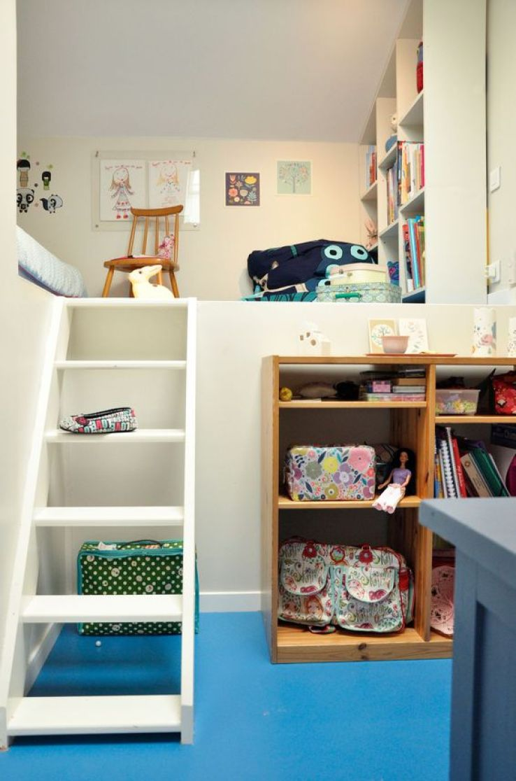 Une Chambre D 39 Enfant Install E Sous Les Toits Sfr News