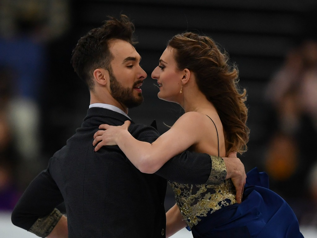 Deux nouveaux records du monde pour un couple français — Patinage artistique