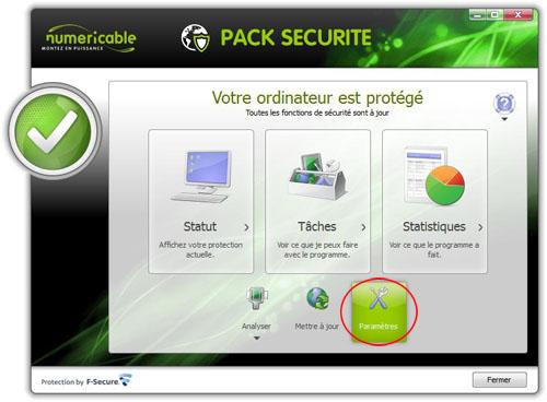Suite l installation du pack s curit je n ai plus acc s - Pack securite sfr ...