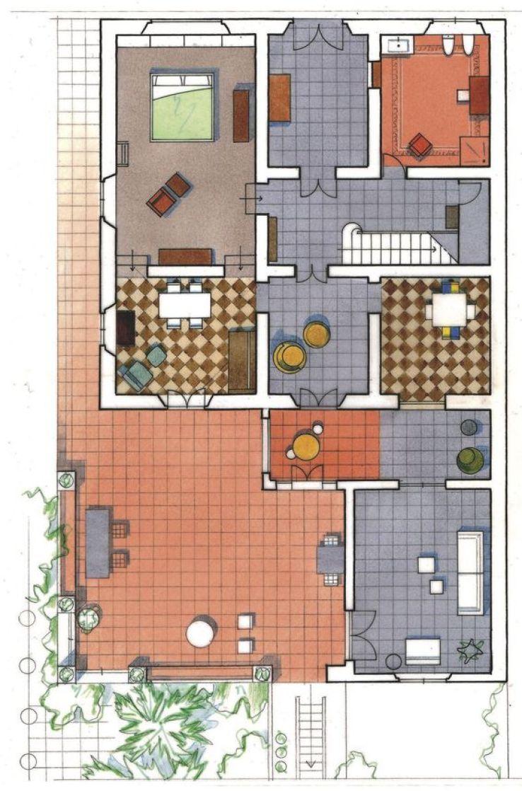 Une maison familiale vintage en italie sfr news - Creer style minimaliste maison familiale ...