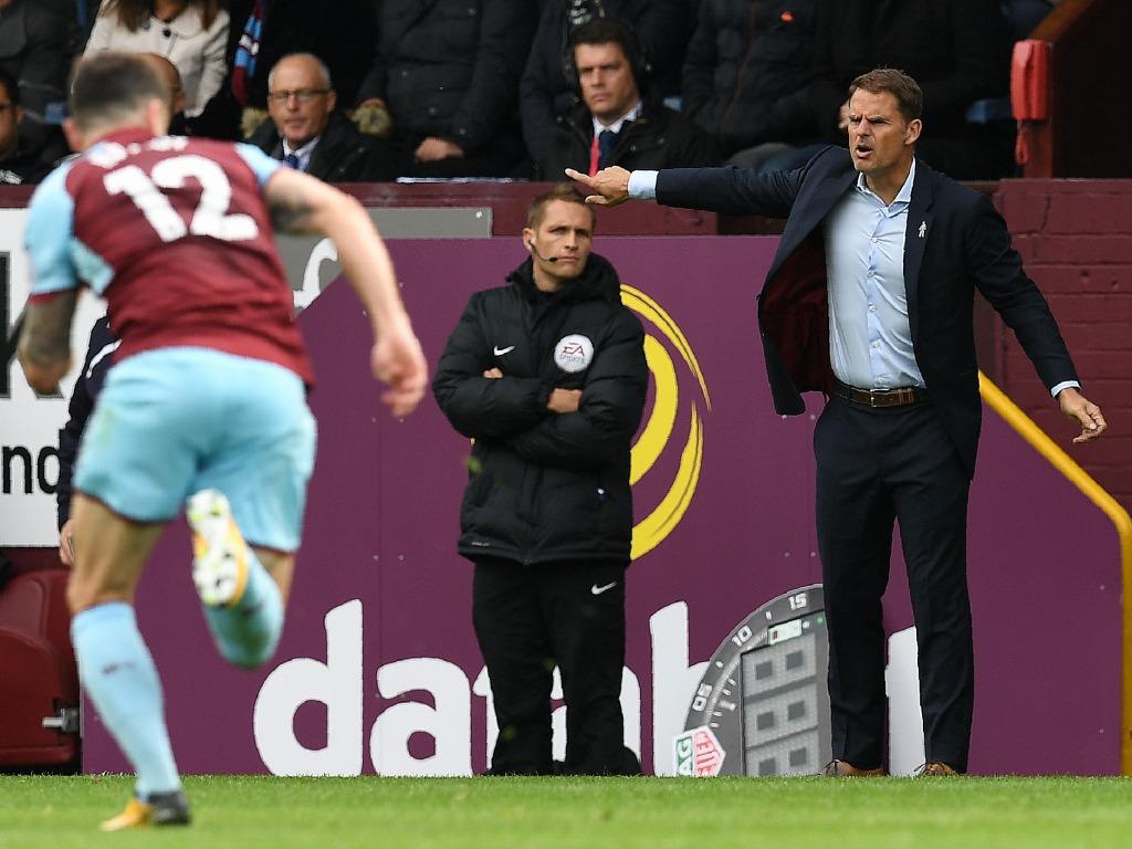 Frank de Boer viré de Crystal Palace