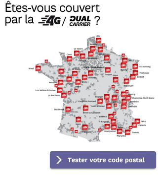 Découvrez la carte du réseau 4G