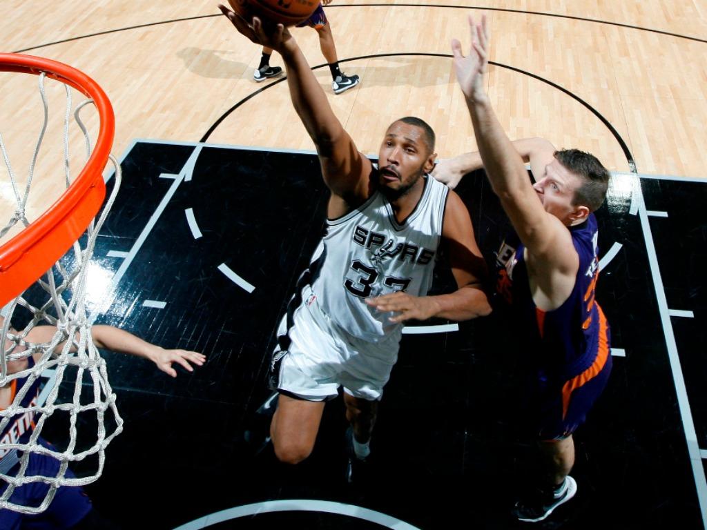 Boris Diaw avec les San Antonio Spurs en NBA
