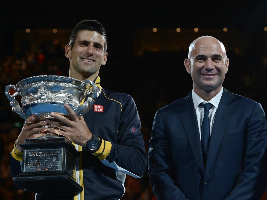 Djokovic confirme sa collaboration avec Agassi