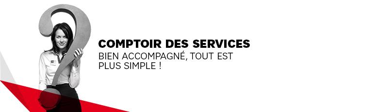 Comptoir des services
