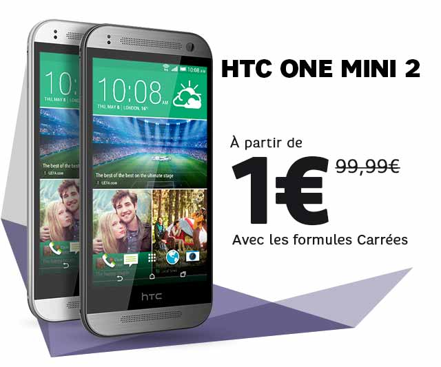 SFR HTC ONE MINI 2