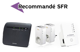 Accessoires Box de SFR