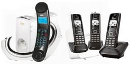 Les téléphones fixes