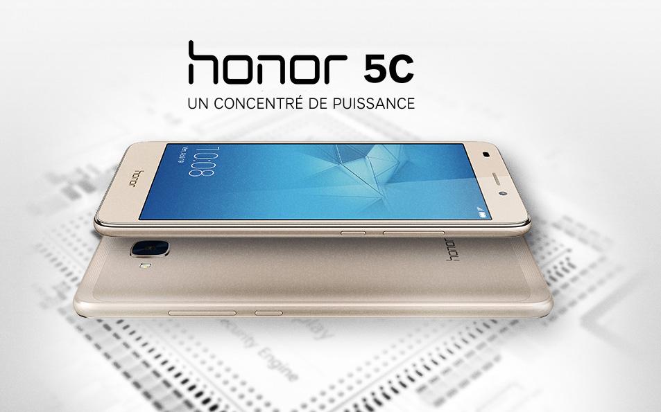 Honor 5c performance pour l entr e de gamme huawei sfr for Photo ecran honor 5c