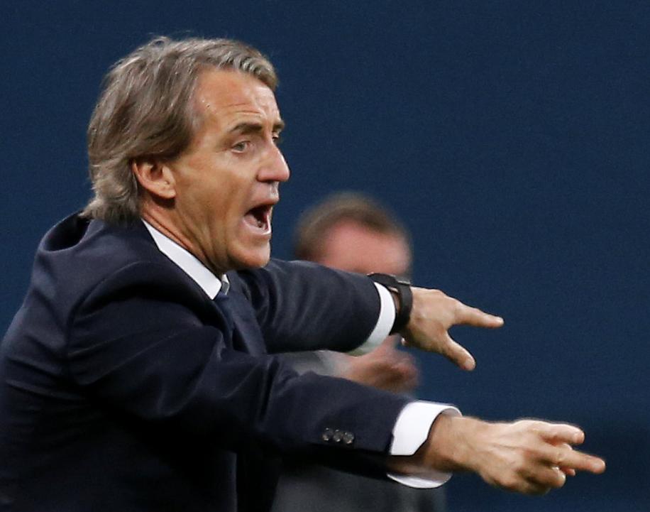 L'entraîneur Mancini se sépare à l'amiable avec le Zénit