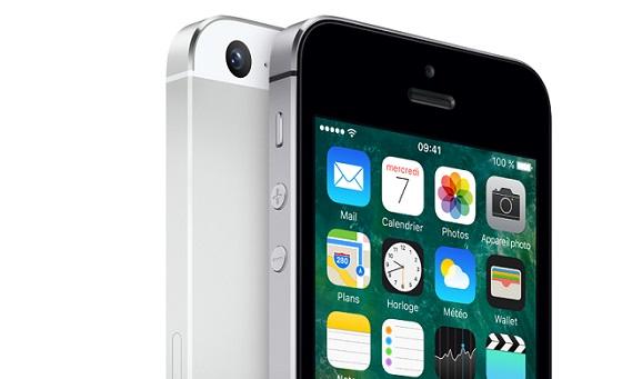 apple iphone 5s 16go argent sfr. Black Bedroom Furniture Sets. Home Design Ideas