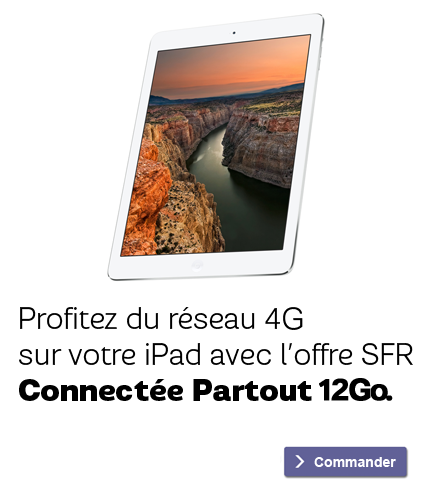 Profitez du réseau 4G sur votre iPad