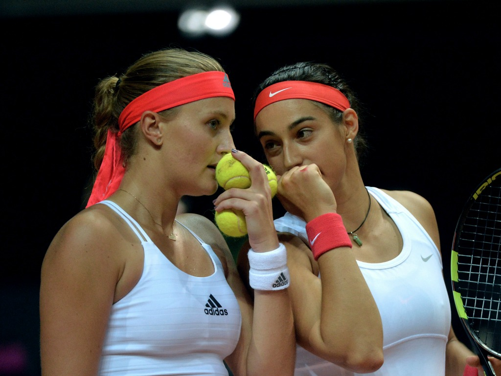 Mladenovic s'offre Muguruza, tenante du titre — Roland-Garros