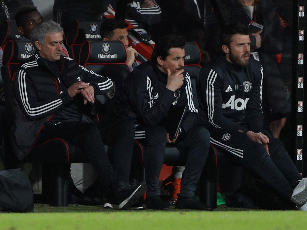 Mourinho et Carrick