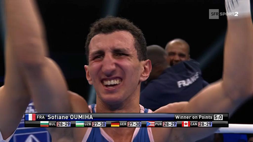 Boxe: entrée réussie pour le Toulousain Sofiane Oumiha au Mondial