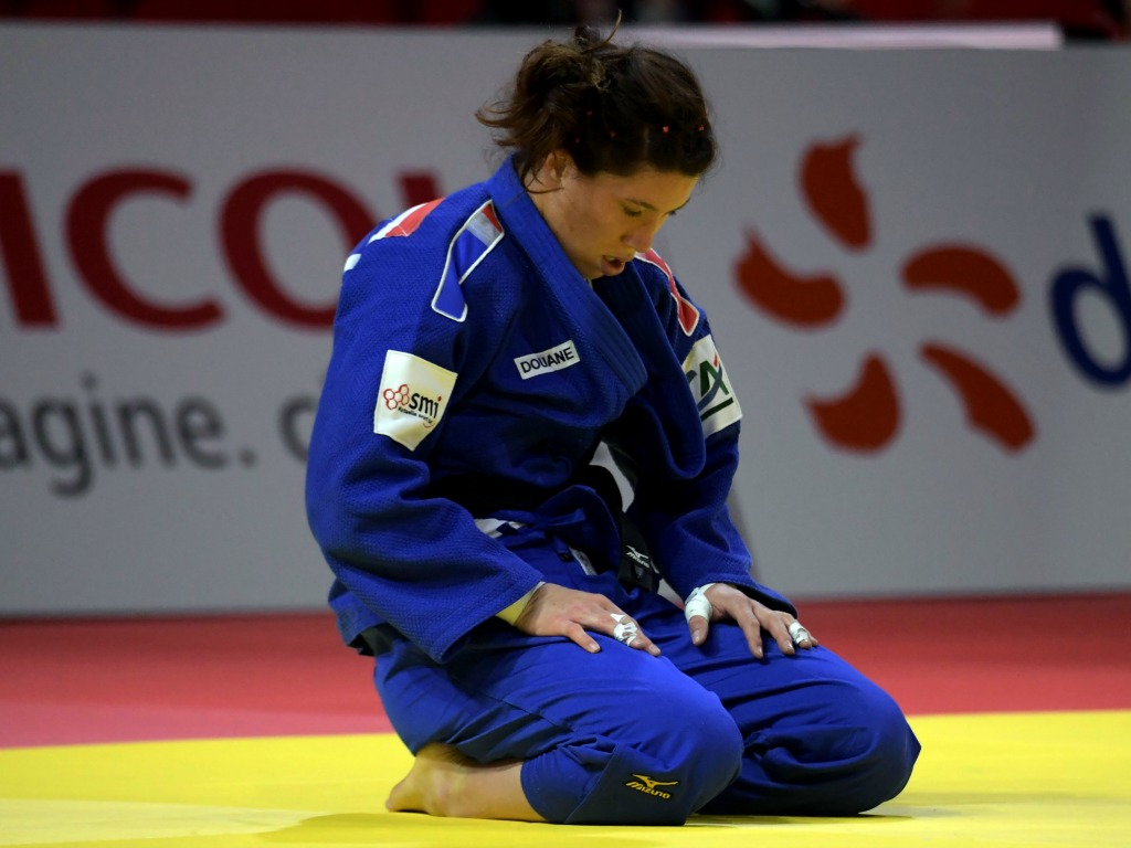 Hélène Receveaux décroche la médaille de bronze — Judo