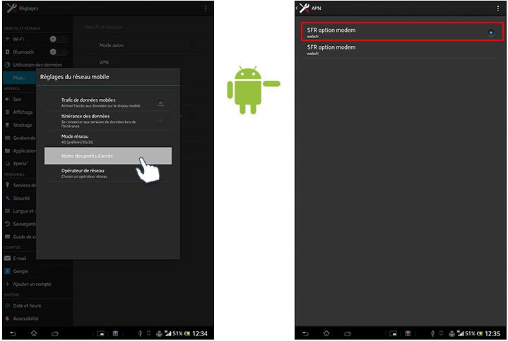Comment r tablir la connexion internet de votre sony xperia tablet z - Comment ameliorer la connexion internet ...