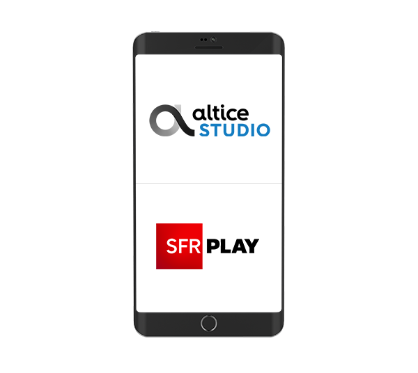 Mobile: Altice Studio, SFR Play