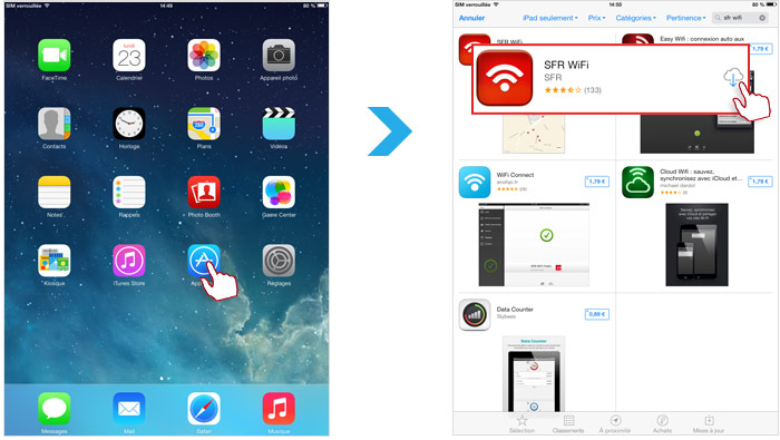 accélérer une application de téléchargement