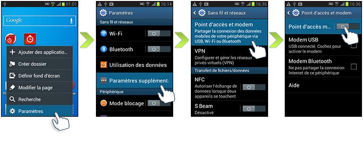 Comment utiliser votre samsung galaxy trend lite comme modem - Samsung galaxy trend lite mode d emploi ...