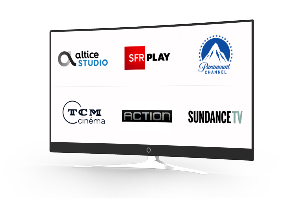 TV: Altice Studio, SFR Play, Paramount Channel,TCM Cinema, Action, Sundance TV