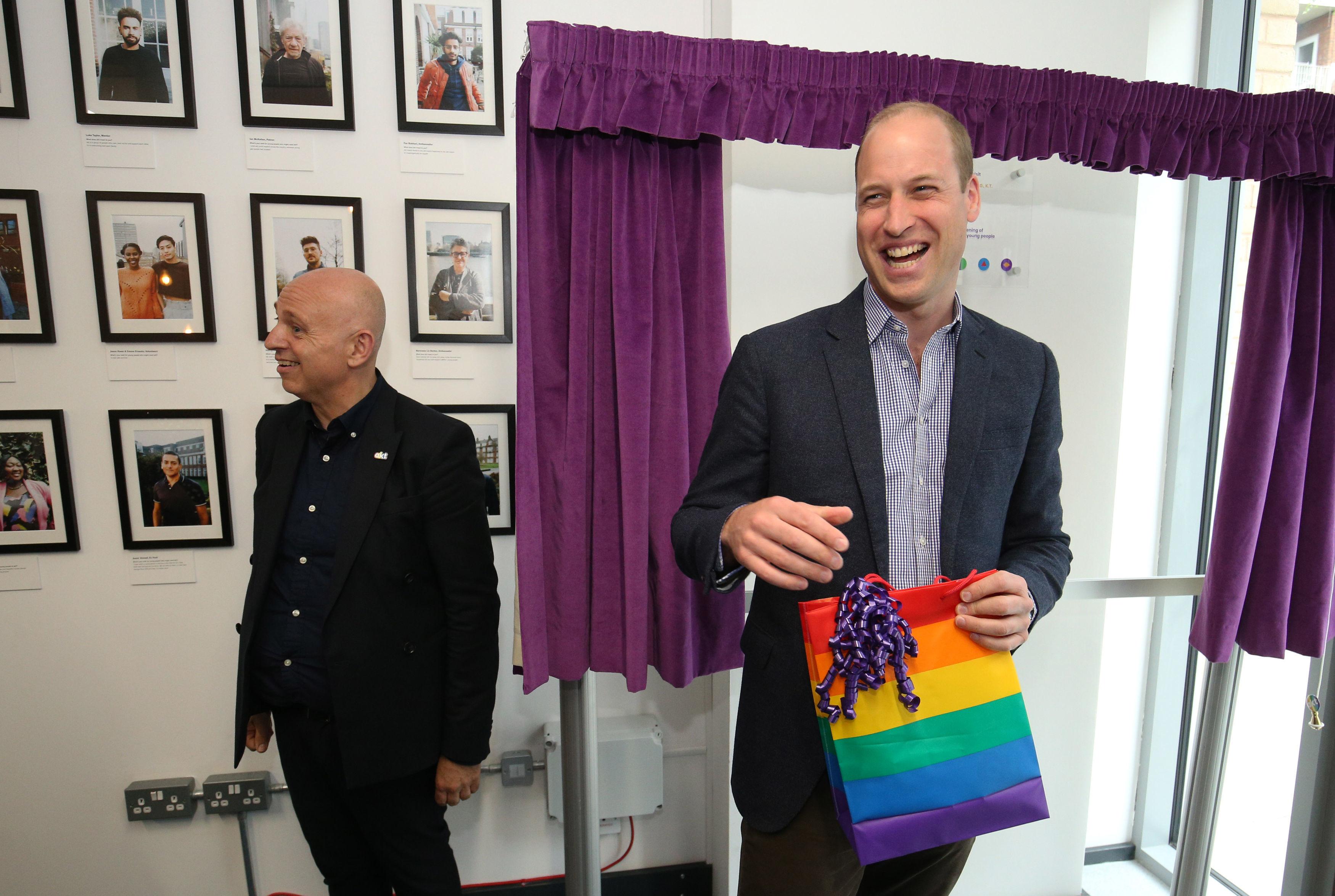 Comment réagirait le prince William si l'un de ses enfants était homosexuel ?