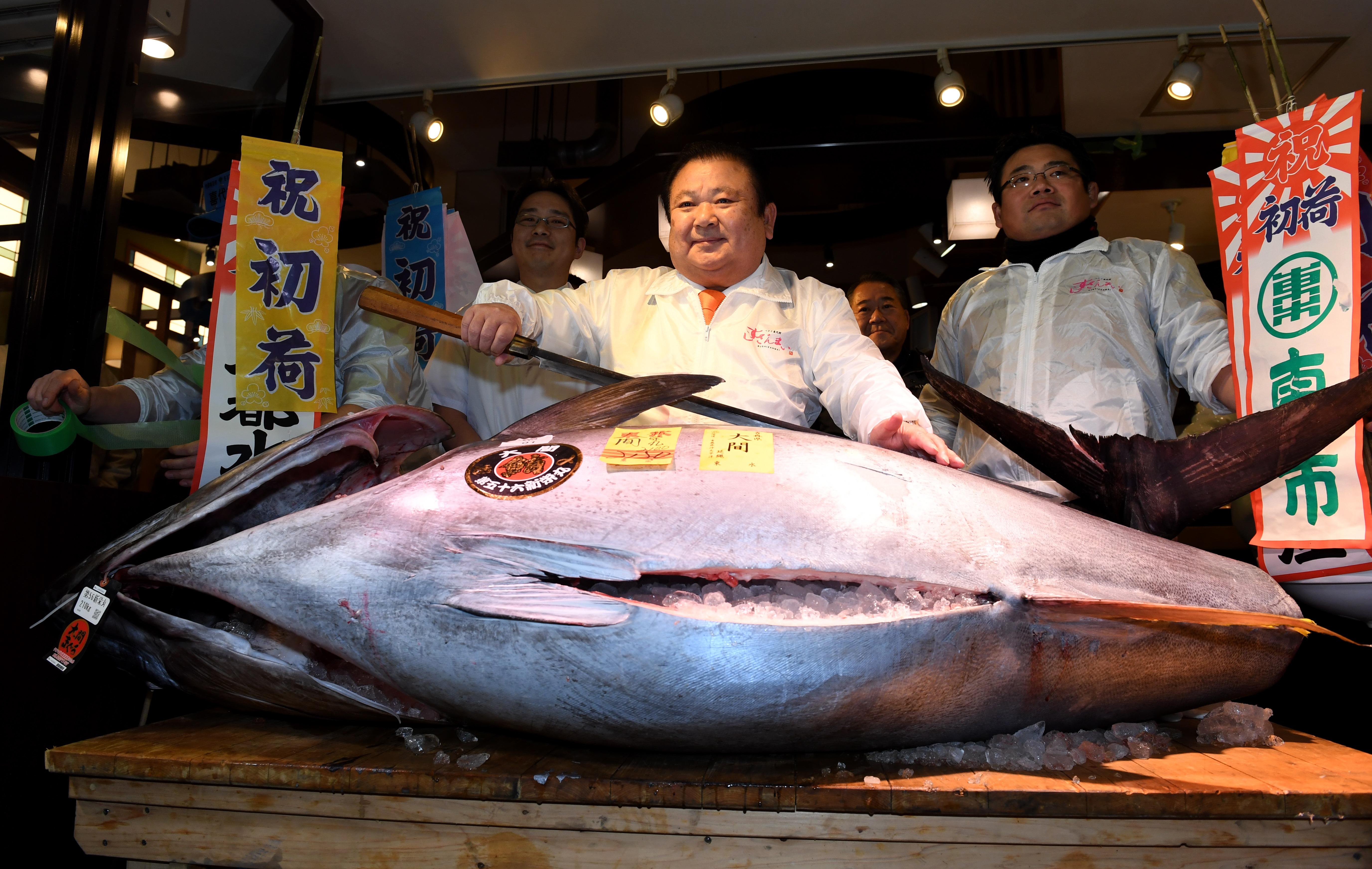Un prix record pour un thon rouge — Japon