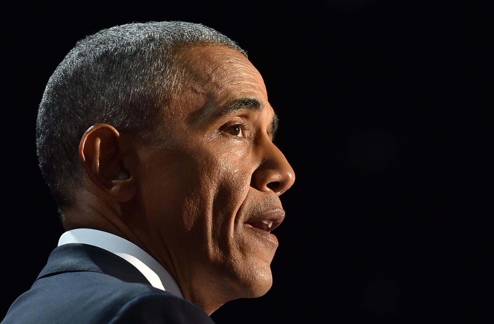 Son coup de fil à Barack Obama dévoilé (vidéo) — Emmanuel Macron