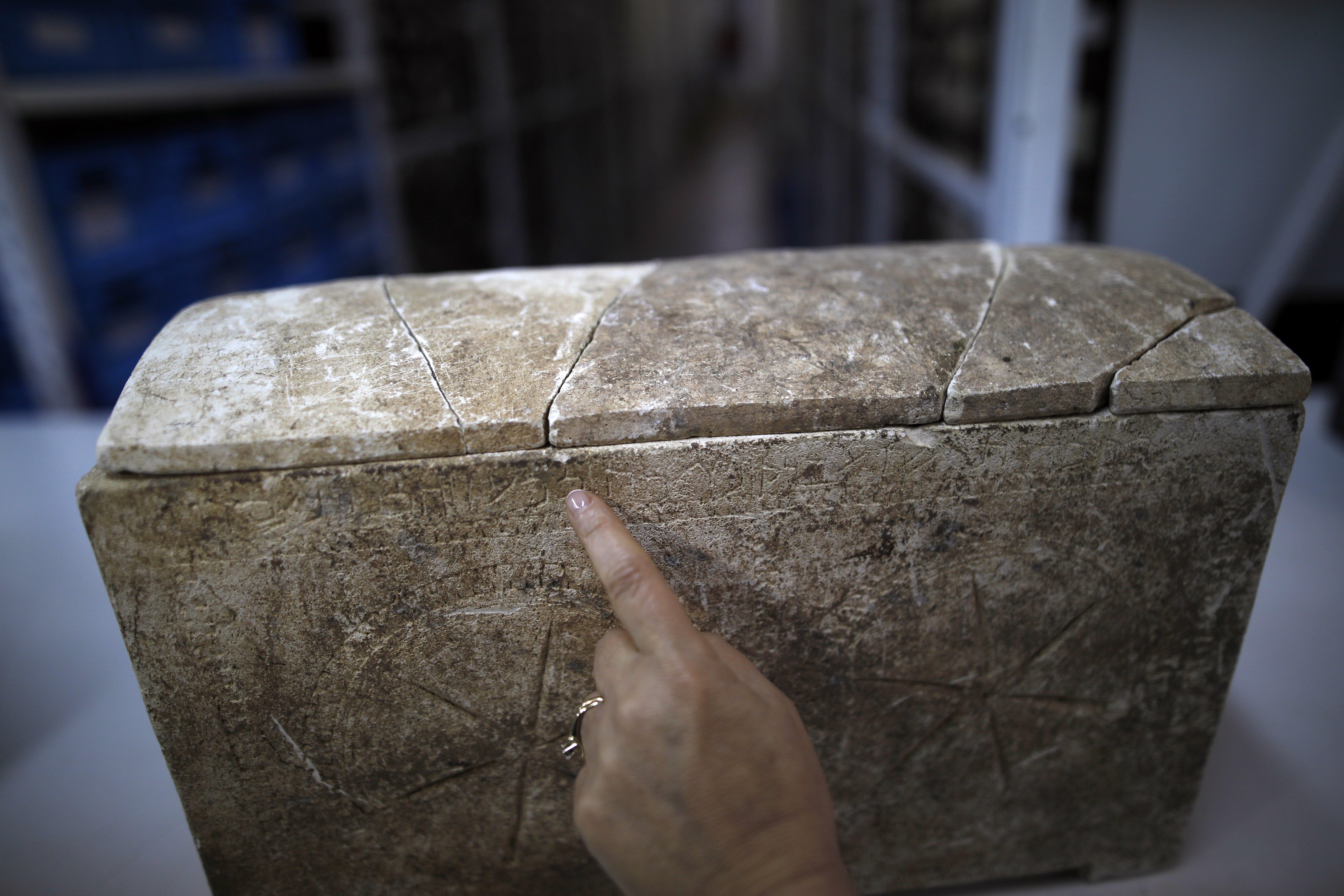 Un ossuaire du Ier siècle après JC fait partie des découvertes