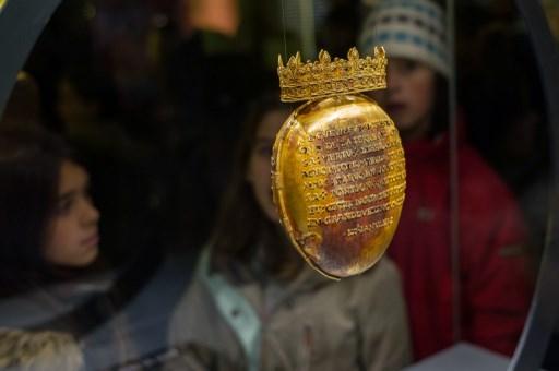 Reliquaire d'Anne de Bretagne volé à Nantes : deux hommes mis en examen