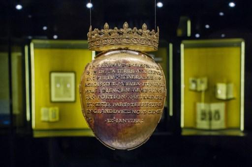 Nantes: une relique d'Anne de Bretagne volée dans un musée