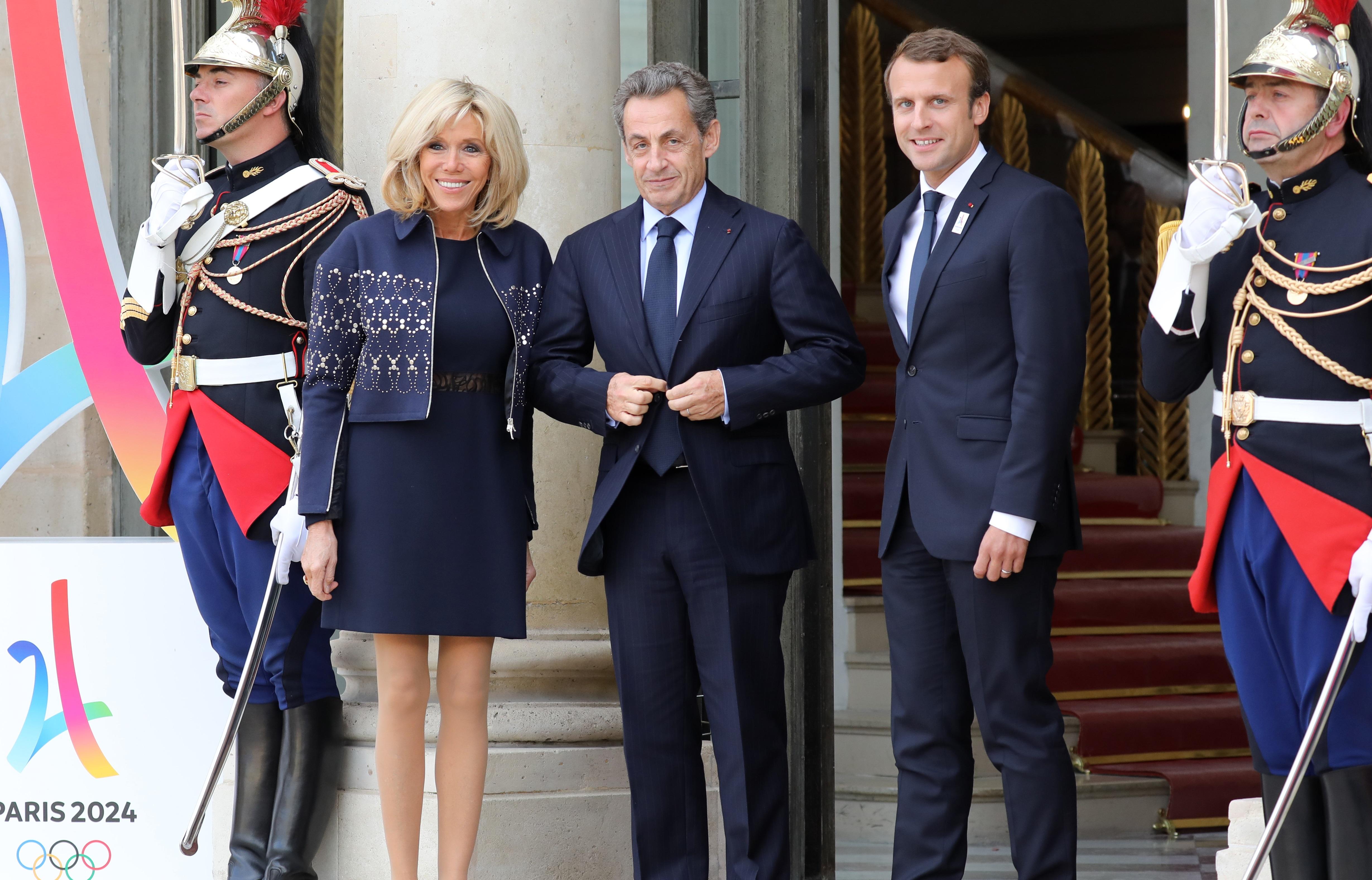 Nicolas Sarkozy a-t-il menti à son sujet — Brigitte Macron