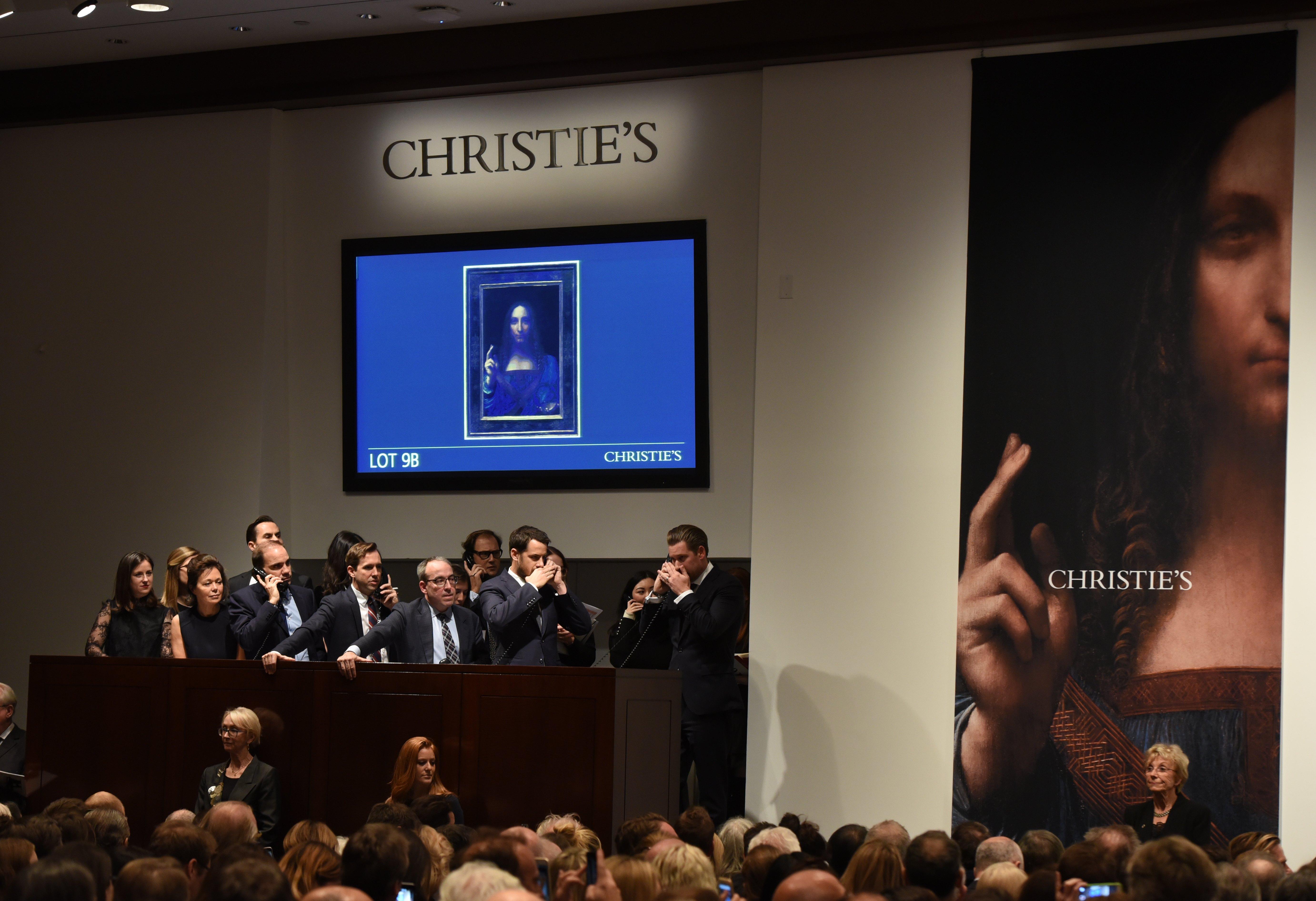 Un choc pour le marché de l'art — Léonard de Vinci