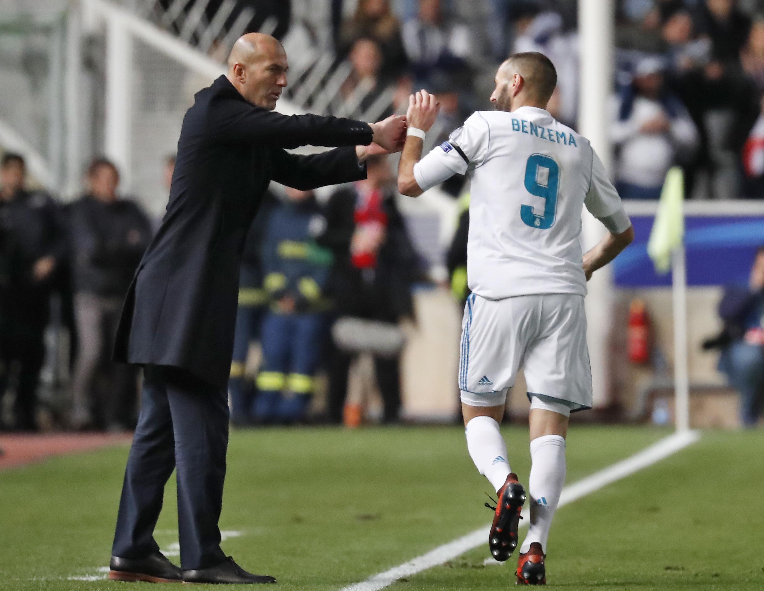 La presse espagnole tombe sur Zidane et Benzema