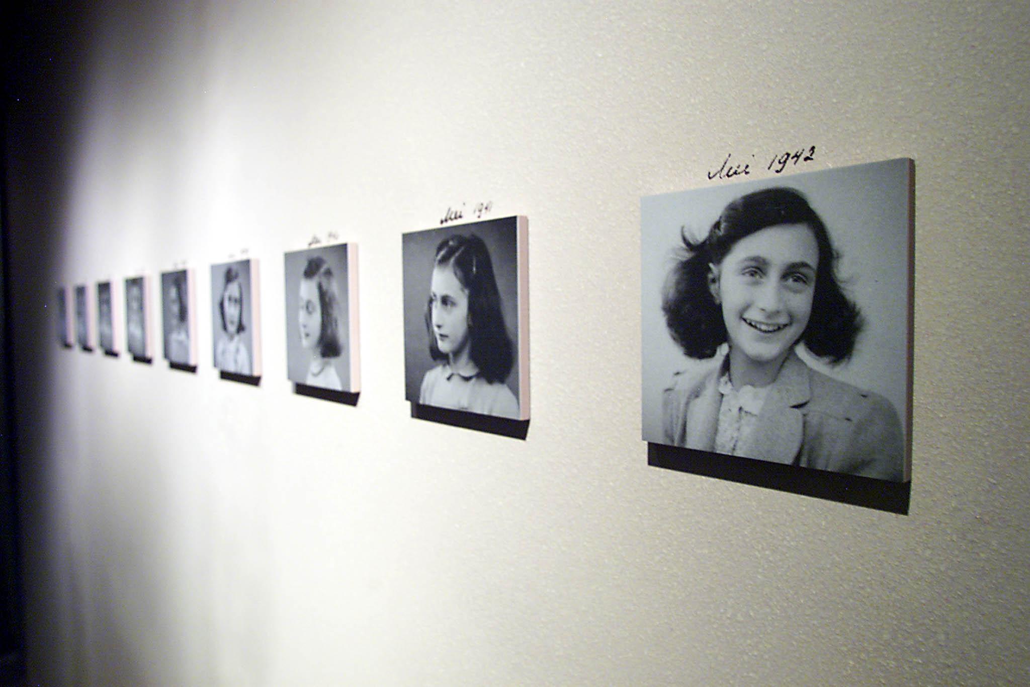 Italie. Émoi après le détournement d'une photo d'Anne Frank