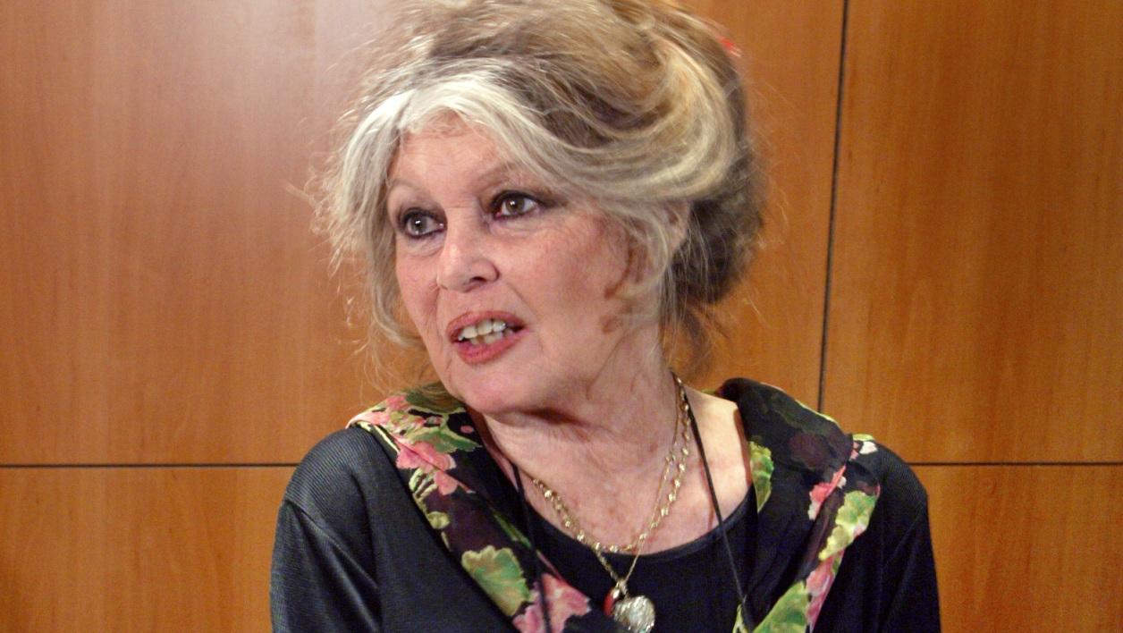 Brigitte Bardot à Paris en mai 2003