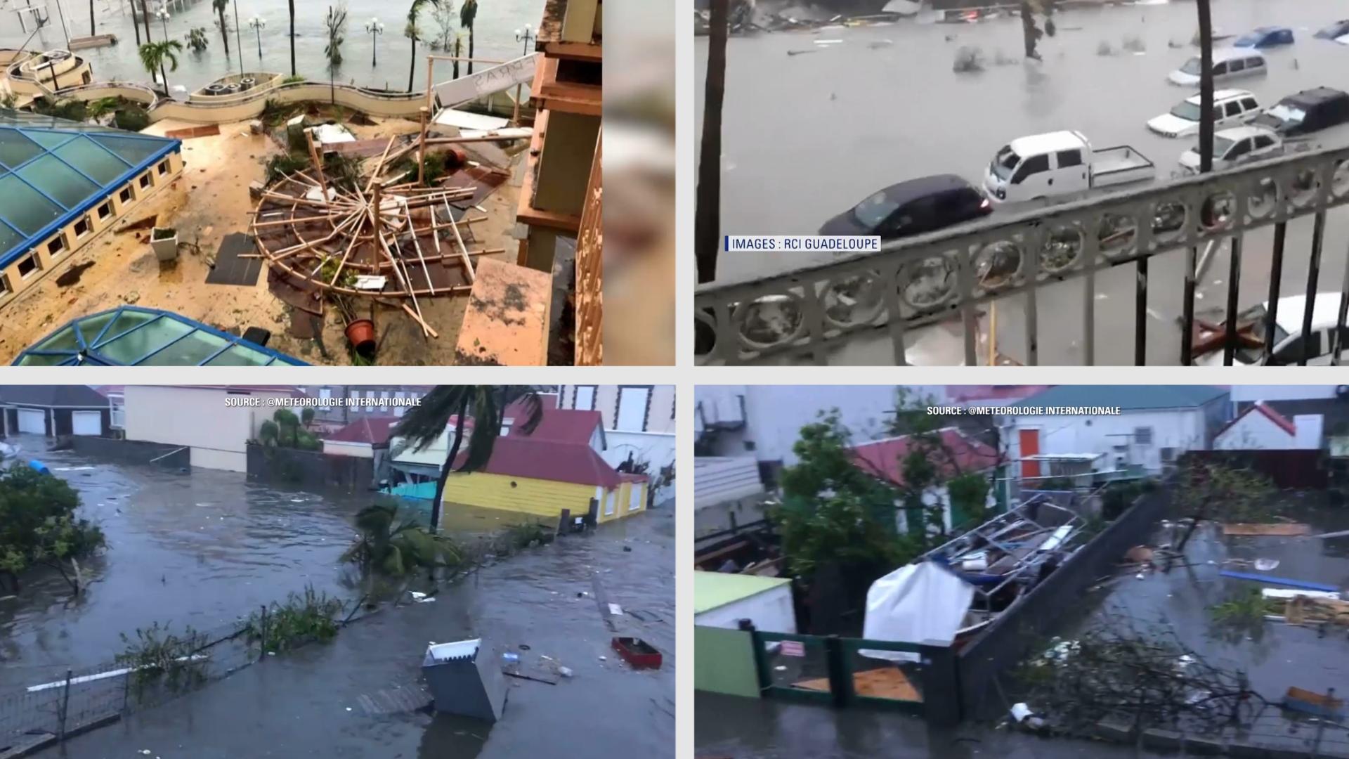 Irma dans le sillon d'Harvey — Ouragan aux Antilles