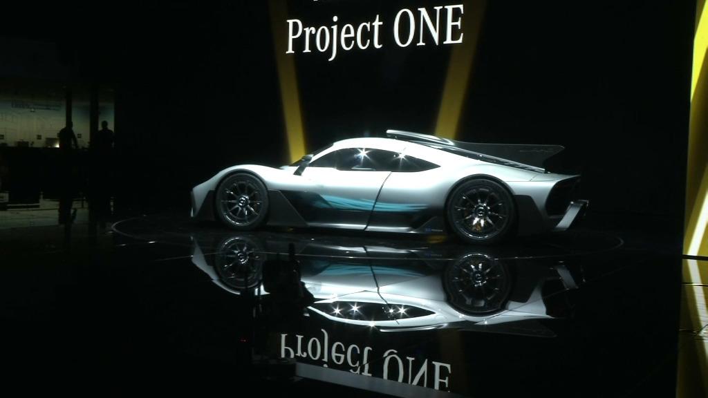 Voici la Mercedes-AMG Project One — Photos
