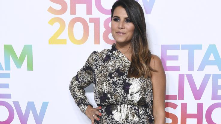 Karine Ferri en septembre 2018