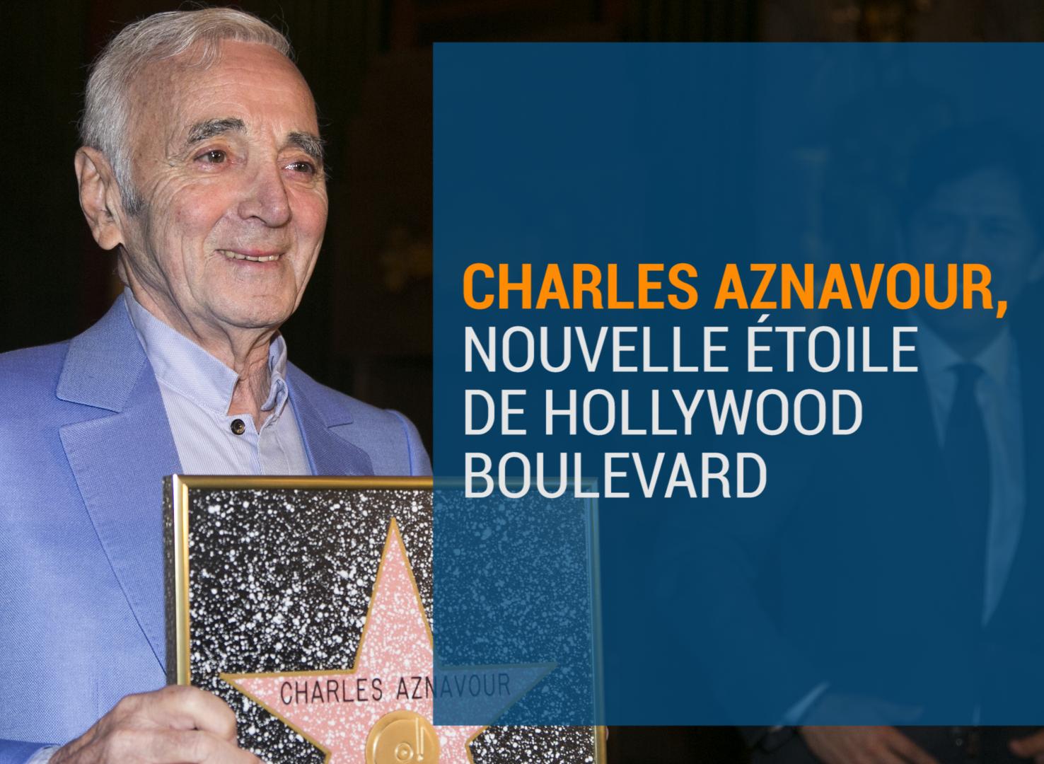 Charles Aznavour de retour sur scène l'hiver prochain?