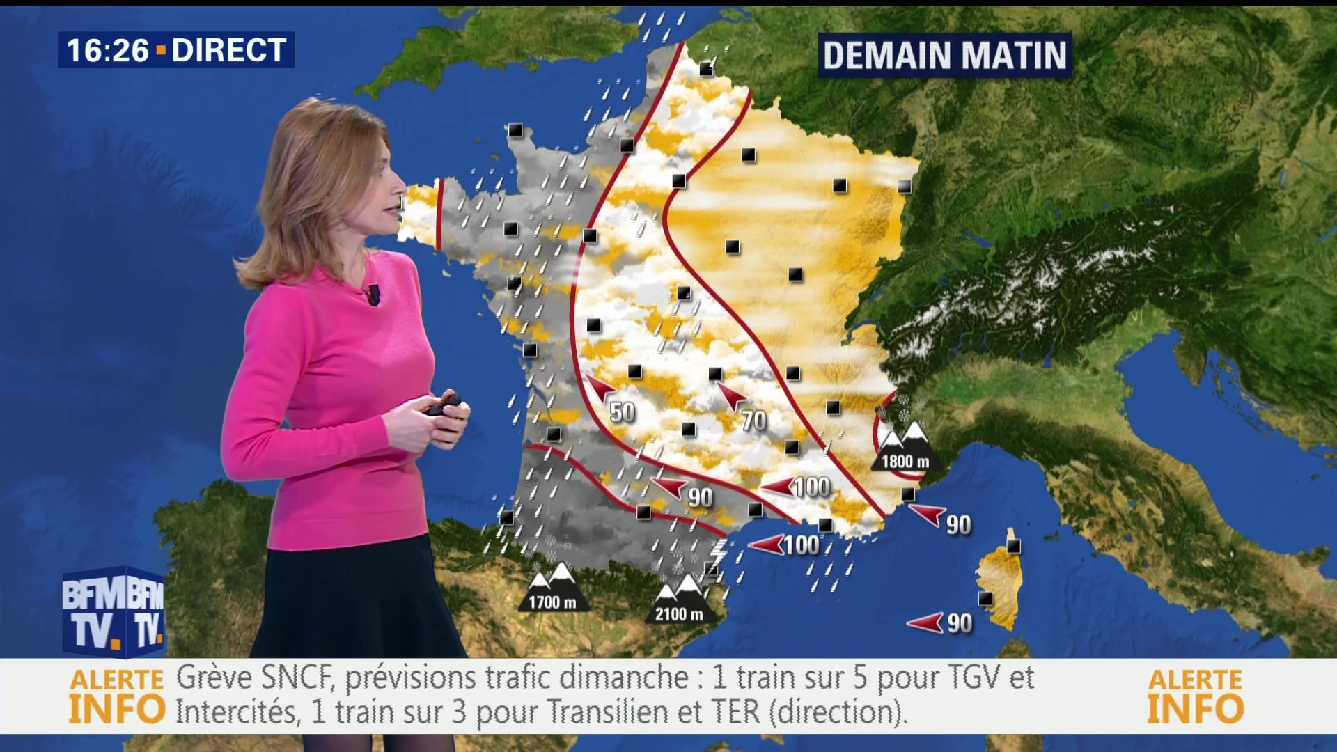 Les Bouches-du-Rhône et le Var placés en alerte orange — Vents violents